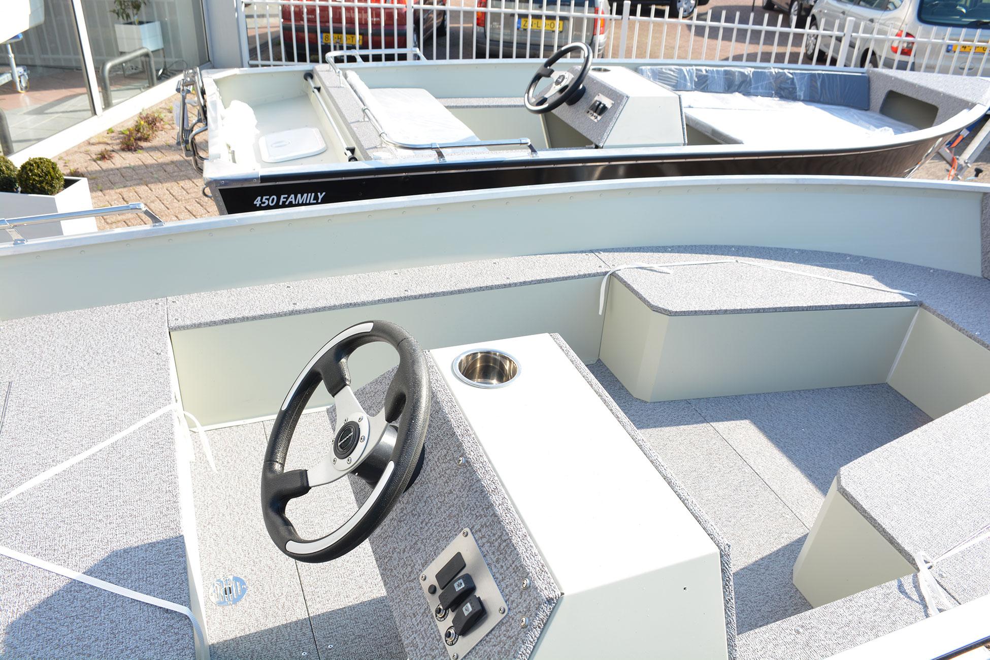 Fonkelnieuw Marine 450 Family Aluminium consoleboot kopen? JustMarine VS-35